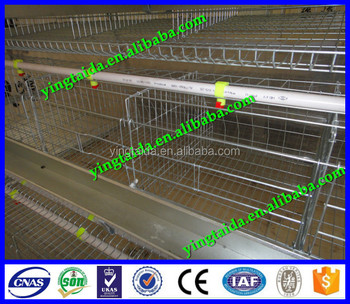 Popular in Nigeria of chicken coop/poultry coop for chickens (ISO 9001)