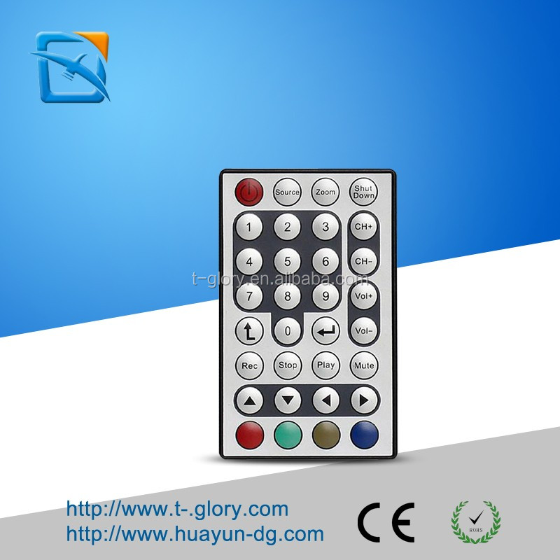 Infrared remote control of LED indoor decorative lamp of mini LED projector