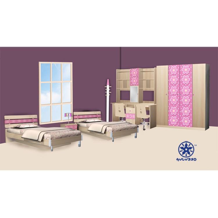 2013 ciff modieus ontwerp meisjes kinderen slaapkamer meubilair 1306 serie kinderen meubels sets - Meisjes slaapkamer stijl ...