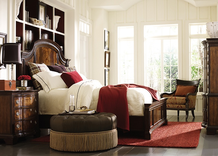 Pure Handmade Solid Wood American Style Home Furniture In Bedroom