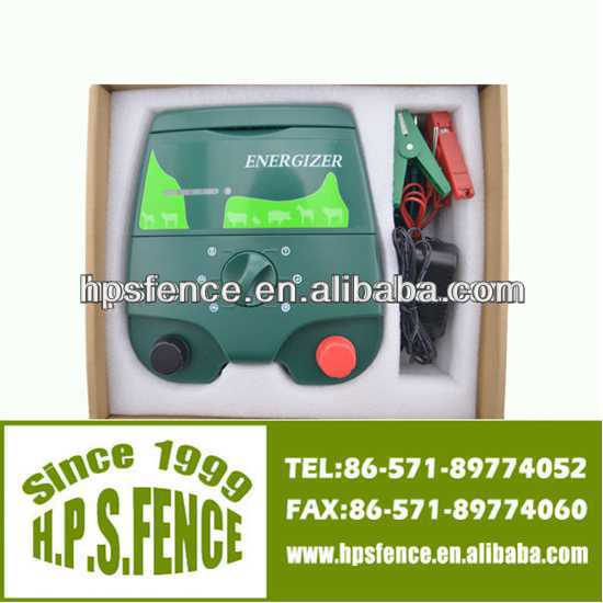 Most selling products China wholesale electric fence 12v powered electric fence charger for animal fencing