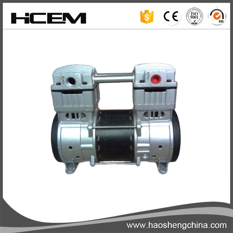 750W master power oil free vacuum pump from china