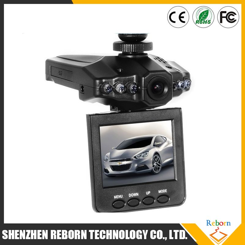 2016 cheap car dvr / car black box / h198 car dvr with 6 LED night