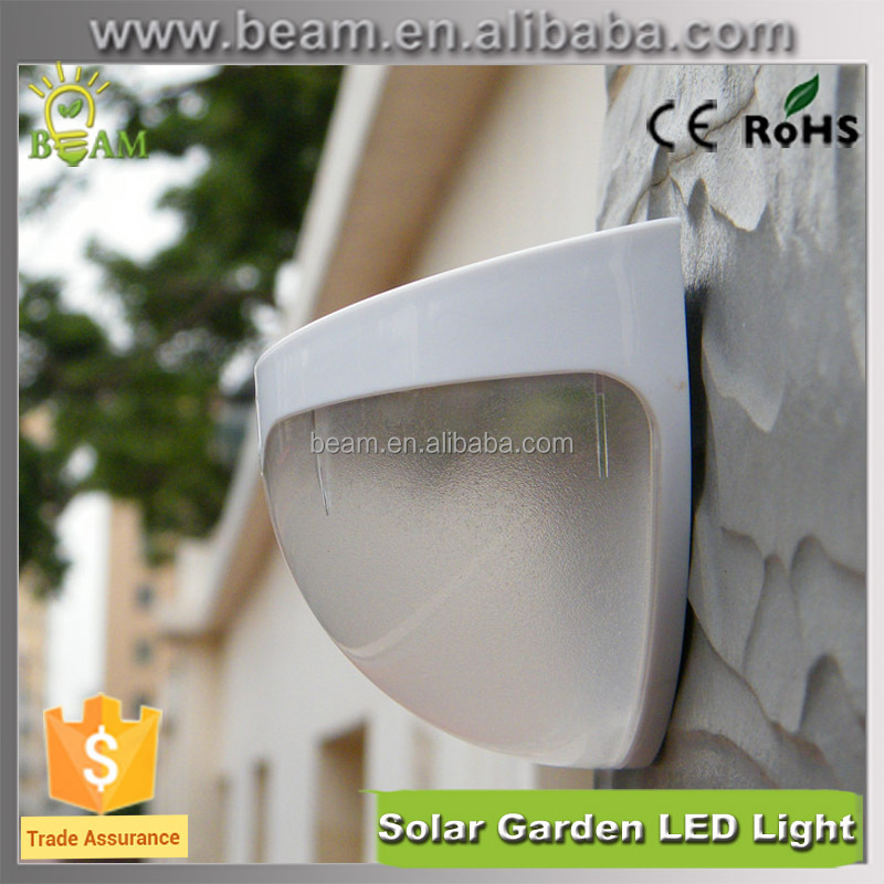 2016 newest high lumen outdoor solar light with sensor motion light for garden, led solar garden light