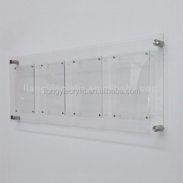 Acrylic Wall Frames high-end clear acrylic wall mount picture frames - buy acrylic