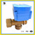 brass 20mm T flow mini 3-way 3 way electric remote control motor water valve for water equipment