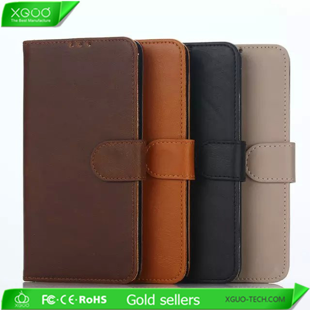 High quality flip leather case for Samsung Galaxy note 5 cover