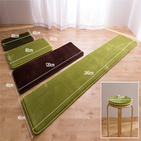 Non slip rug pad decorative custom size bath rugs