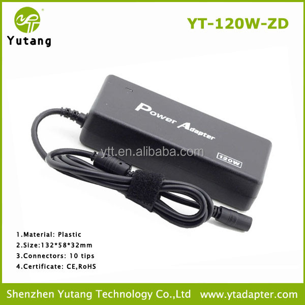 Notebook Electric Plastic 120W Adapter <strong>Manufacturer</strong> in SHENZHEN