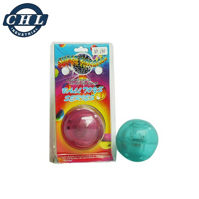 Factory direct bouncy ball with multi colors light