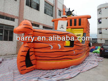 NEW DESIGN inflatable boat buncer,pirate ship model.pirate boat