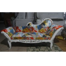 Deluxe antique French chaise lounge chairs