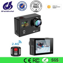 4K 60fps fhd waterproof sports action camera 1080p 16mp wifi