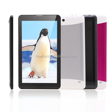 low cost 3g tablet pc phone android tablet pc 7 inch ultra slim tablet pc metal cover