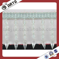 Fashion garment,curtain,sofa,and valance decoration ,curtain tassel trimming lace fringe margen