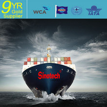 sea freight cargo/sea shipping agent with very favorable rate