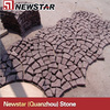 Granite Mesh Back Stone Paving,red granite paving stone