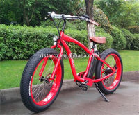 Fat Tire 2 Seat Chopper Electric Bike