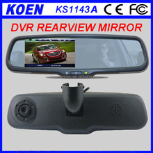 Popular 4.3'' Monitor 1080P HD Car DVR Rearview Mirror Recorder Dash Cam