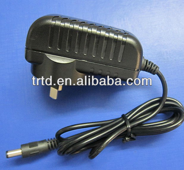 Wall Plug 12V2.5A Power Adapter for CCTV LCD LED