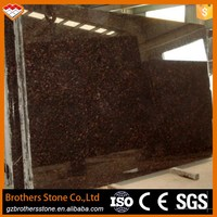 Home decoration type natural stone tan brown granite vanity top India Tan Brown granite floor