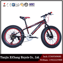 fat tire snow bike for sale with 26*4.0 fat tire