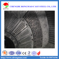 Custom Ball Mill Liners Mn14 Iron Cast Liners For Coal Mill