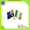 Custom Soft Enamel Souvenir Flag Lapel