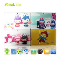 China Cheap tablet 7 android dual camera rk3026 4g tablet case tablet 7 angry birds game q88 ii rockchip