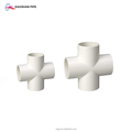 building materials name water supply sch40 pvc pipe fittings equal cross