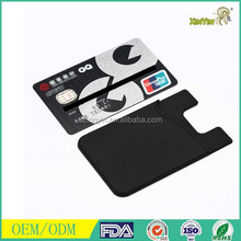 Smart wallet for mobile phones/3M adhesive sticker card holder