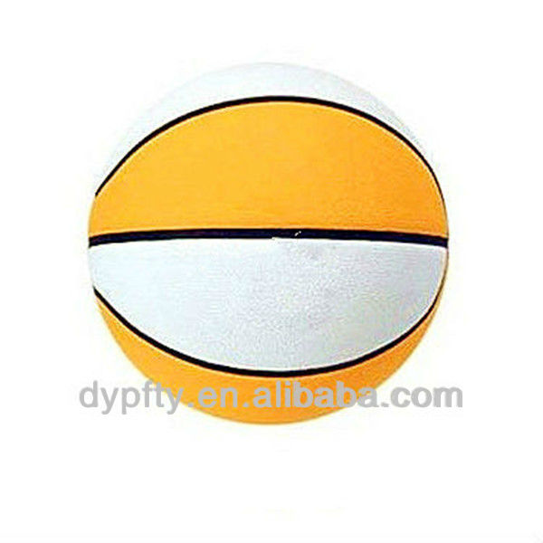 Custom Size 3# Inflatable Rubber Basketball