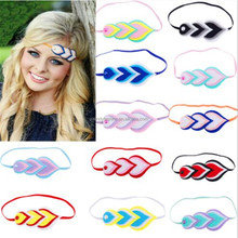 Wholesale Stylish Cute Pearl Women Feather Hairband