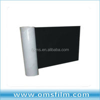 White and black plastic greenhouse sheeting
