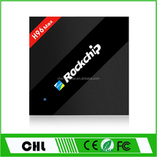 2017 Trending Products Powerful Rk3399 4Gb Ram 32Gb Rom Android Tv Box , H96 Max Internet TV Box