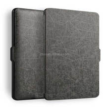 2016 high quality flip Leather Case for Kindle Paperwhite