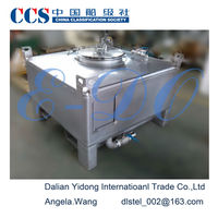 2014 UN diesel fuel storage stainless steel IBC tank