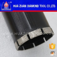 76mm sintered diamond tip black hollow core diamond drill bits for granite sandstone hard rock concrete