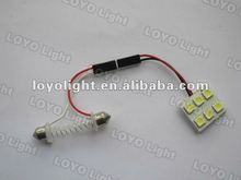 T10/BA9S/Festoon 5050 SMD PCB dome led interior light car indoor lamp