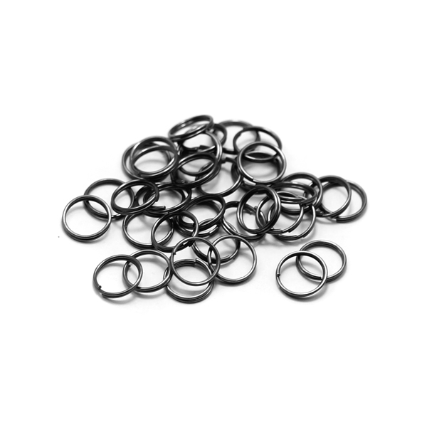10mm raw color wholesale double jump rings