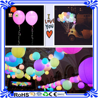 High quality Customized Wedding Decoration Inflatable LED Balloons