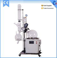 Vacuum Glass Distiller With Electric Heating Water Bath