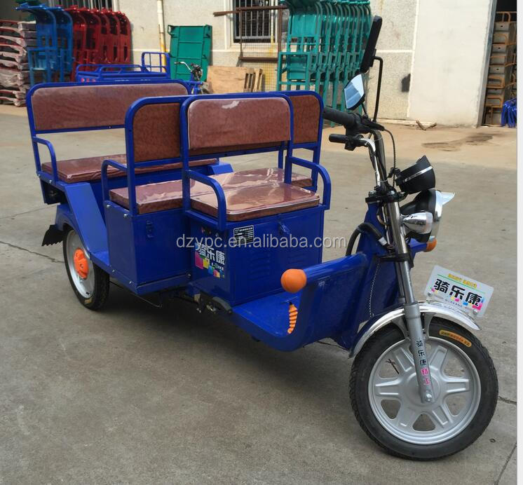 Electric rickshaw 2014 best-selling electric tricycle /three wheel motorcycle 48V Tuk Tuk