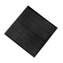 BUHESHUI 3W 6V Monocrystalline Silicon Solar Cell Mini Solar Panels 145*145mm DIY Small Solar System Educational Kits