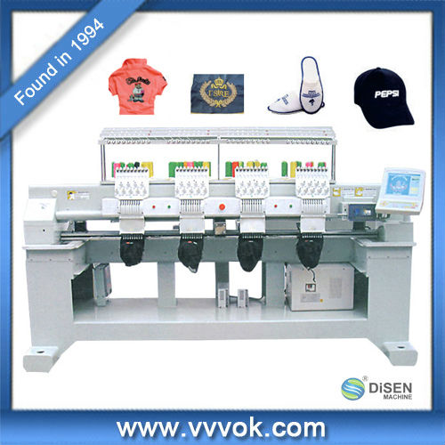 High speed cnc embroidery machine