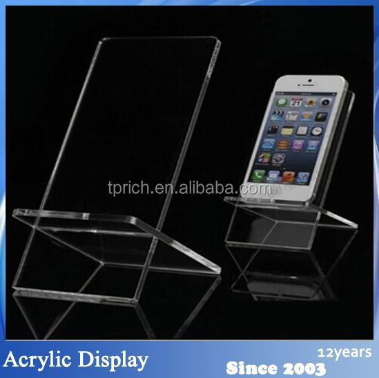Custom Clear universal cell phone stand wholesale