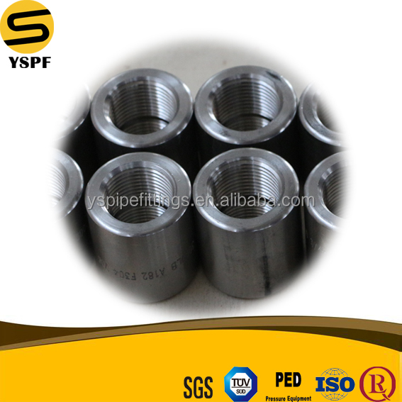 Forged pipe fitting male female coupling stainless steel half coupling full coupling b16.11
