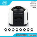 8.0 MP CMOS sensor HD functional action camera with 7G fisheye lens