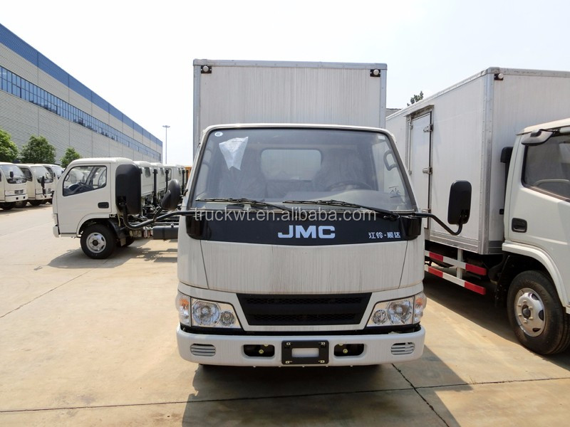 JMC 5 tons insulated van box truck for africa