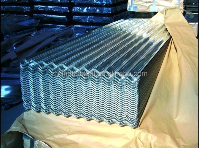 corrugated ppgi/gi steel plate wave roofing tile